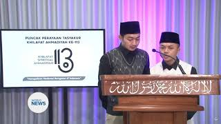 Indonesian Ahmadi Muslims Celebrate Khilafat Day