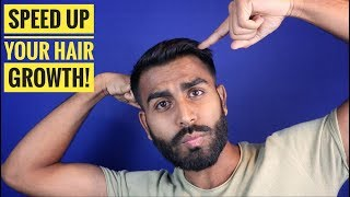 4 Easy and Effective Exercises For Hair Growth | Reverse Male Pattern Baldness