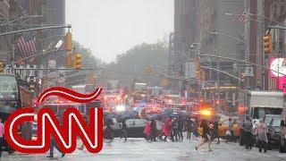 Se estrella helicóptero contra edificio en Nueva York