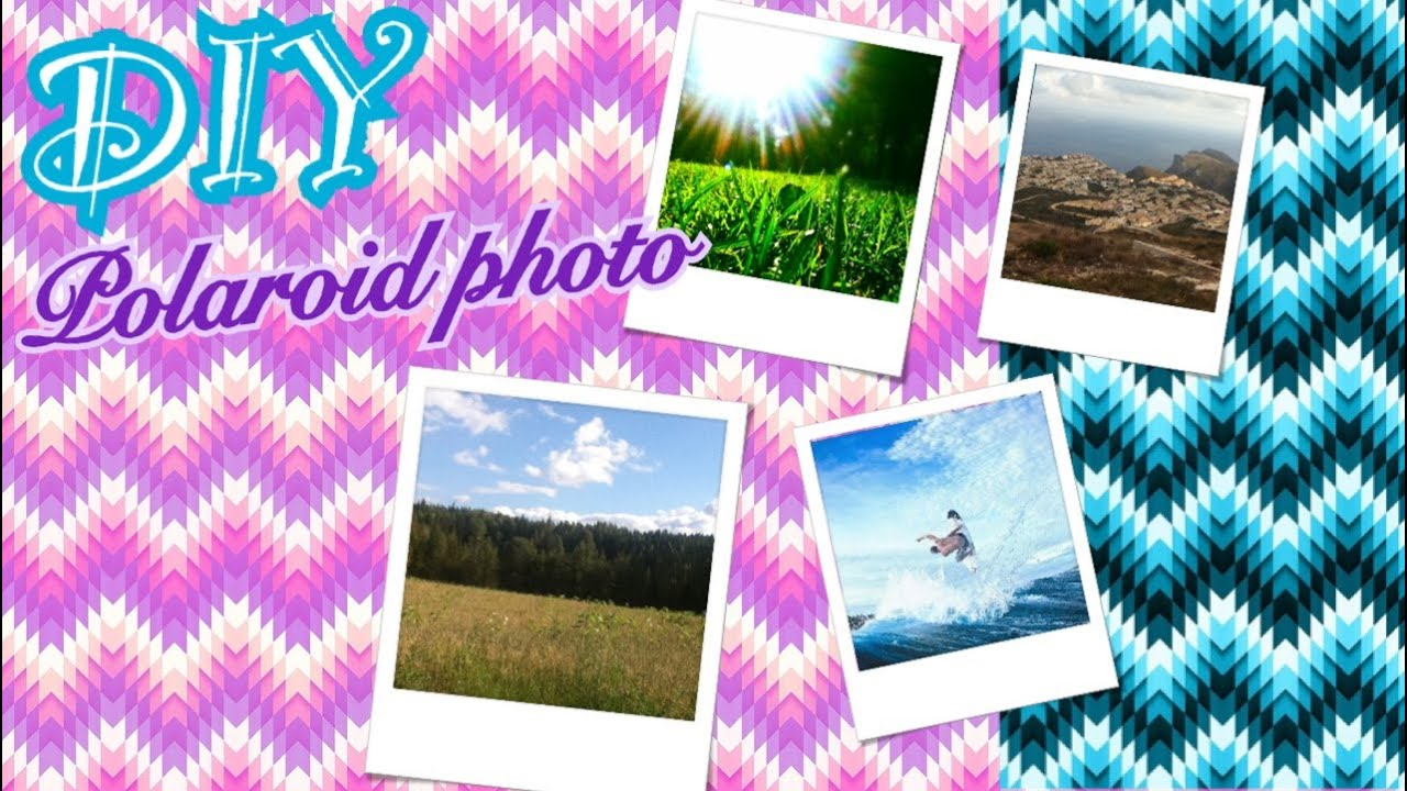Как сделать полароидные снимки фото 596