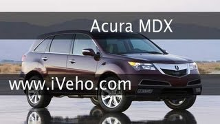 Test Drive The 2013 Acura MDX