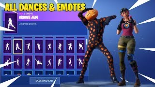 NEW! LEAKED SKINS & EMOTES! (Jack Gourdon & Bullseye!) Fortnite: Battle Royale!