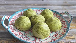 Thousand Layer Mooncake - Matcha