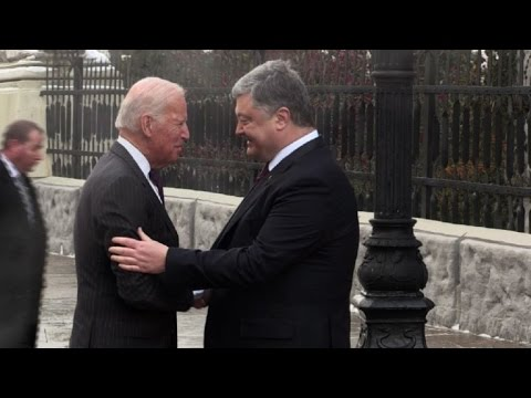 US vice president visits Ukraine in show of support