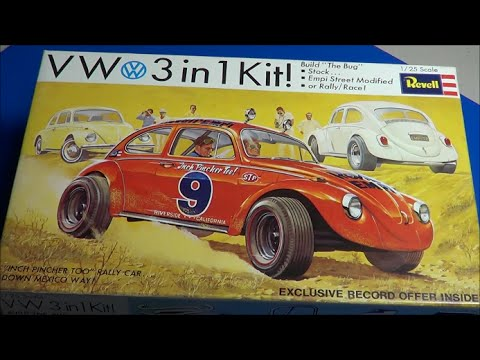 Revell VW (3 in 1) Model Kit Review @ SMKR