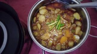 Arvi Keema recipes cook with fatima