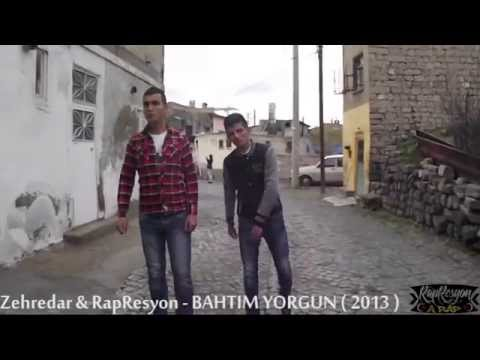 Dj KaraDuman Ft. RapResyon & Zehredar - BAHTIM YORGUN Video Klip 2013