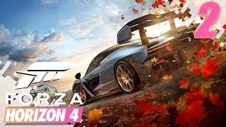 FORZA HORIZON 4 - New Car And Bugatti Chiron Driving! - EP02 (Gameplay Video)