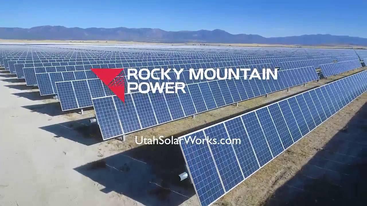 Solar Power For Utah Rocky Mountain Power Youtube