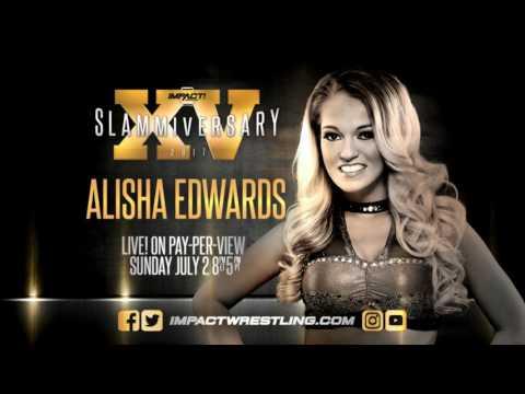 Alisha Edwards Impact Wrestling Theme (Impact Red CD)