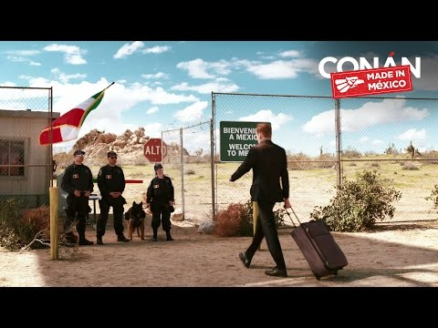 """""""Conan Without Borders: Made In Mexico"""" Cold Open"""