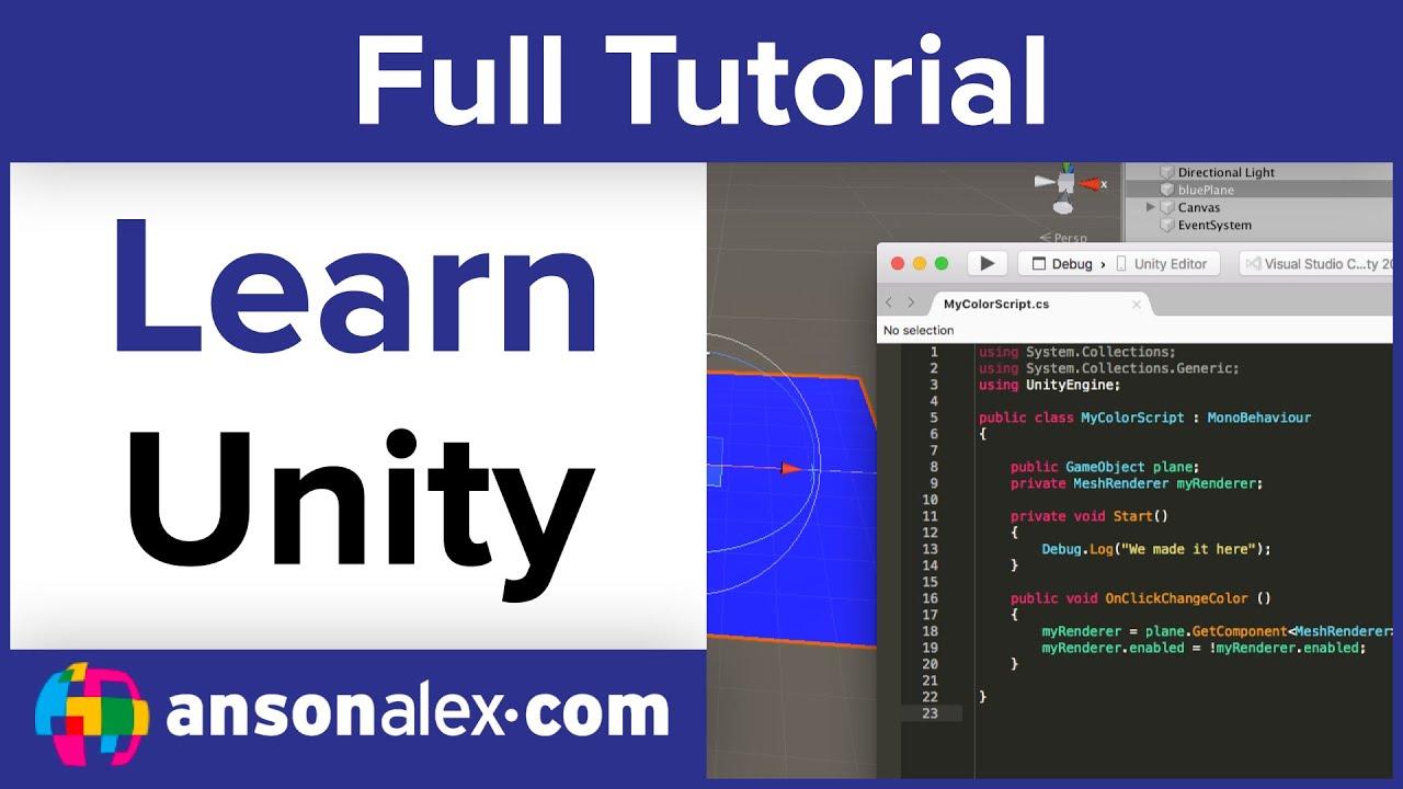 coding c in unity