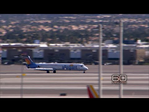"Allegiant Air safety record scrutinized on ""60 Minutes"""