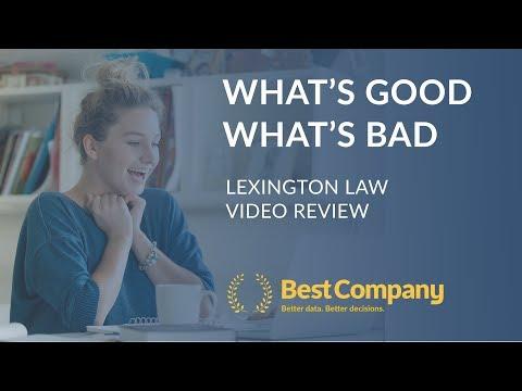 Best Company Reviews: Lexington Law