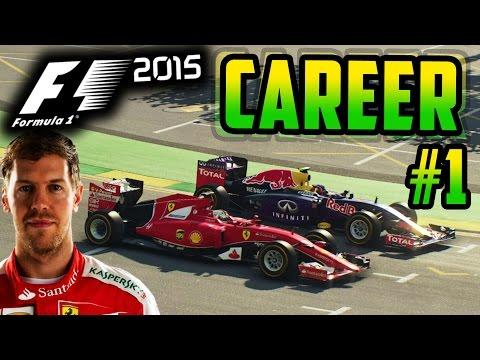 F1 2015 VETTEL CAREER MODE PART 1: AUSTRALIA
