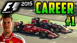 F1 2015 VETTEL CAREER MODE PART 1: AUSTRALIA