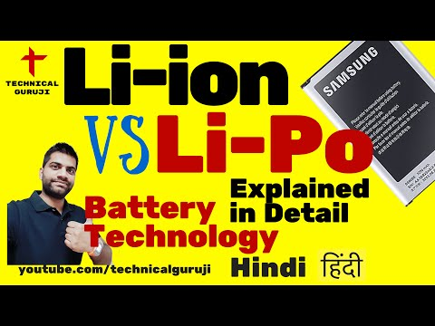 [Hindi] Li ion Vs Li Po Batteries Explained in Detail