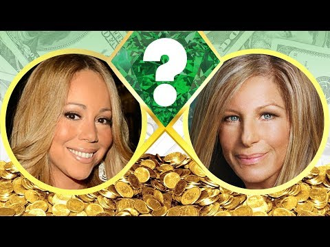 WHO'S RICHER? - Mariah Carey or Barbra Streisand? - Net Worth Revealed! (2017)