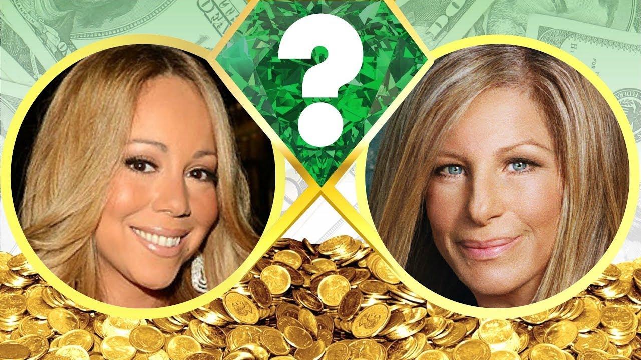 WHO'S RICHER? - Mariah Carey or Barbra Streisand? - Net ...