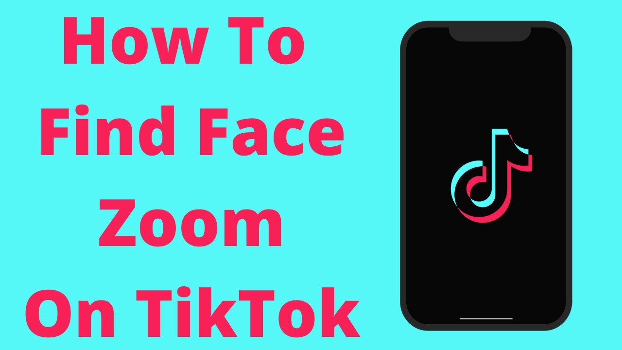How To Find Face Zoom Filter On Tiktok Youtube