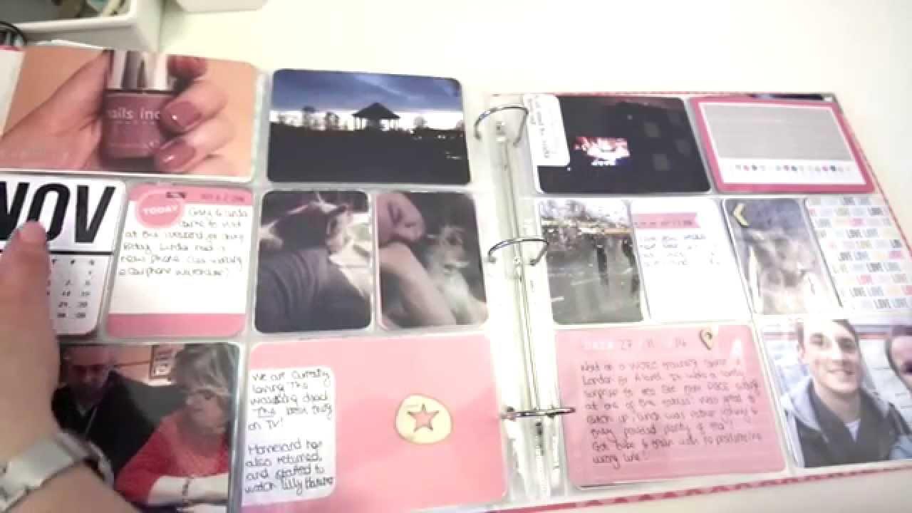 Project Life 12x12 Album Walkthrough Plus Why I Now Use 6x8 Youtube