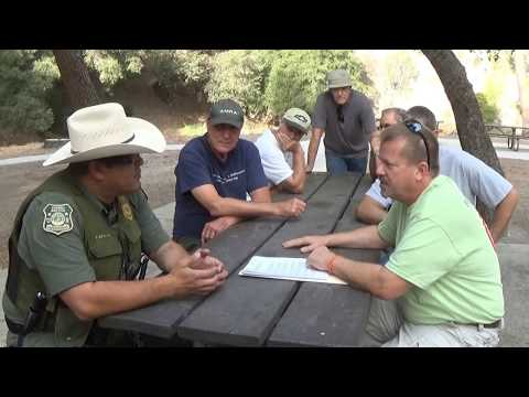San Gabriel River run in with USFS and small miners September 2015