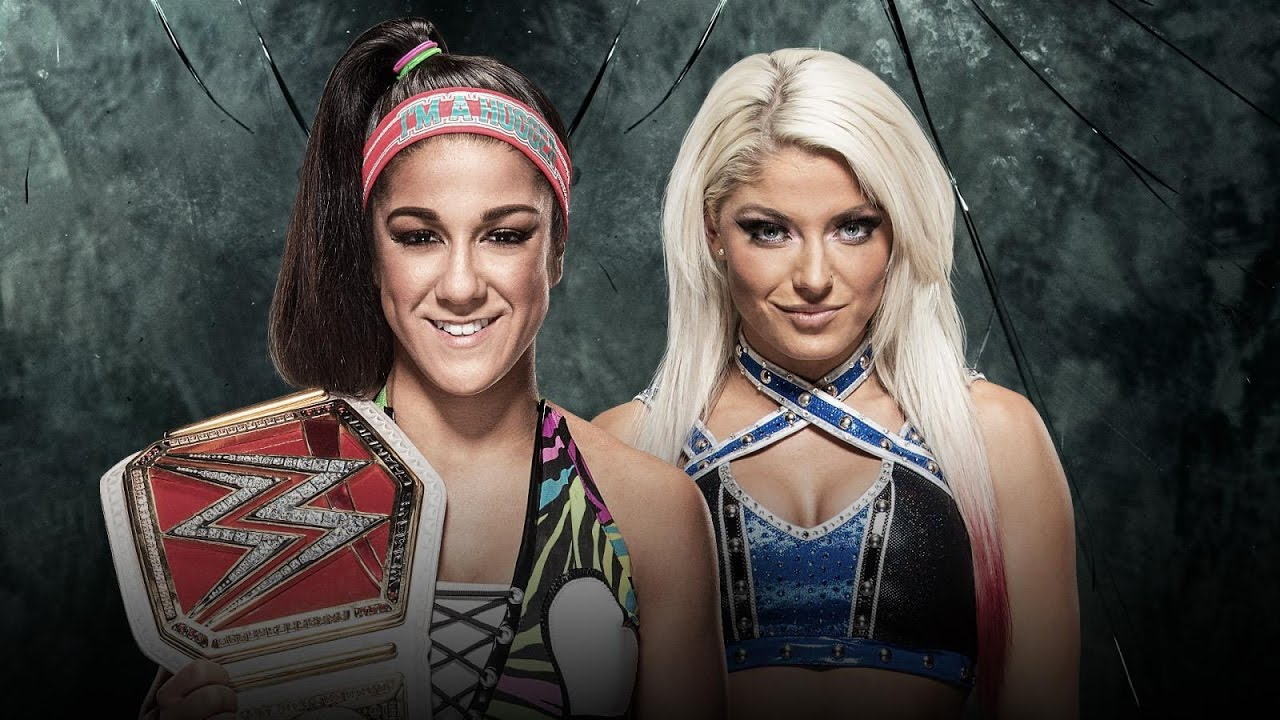 Image result for RAW Women's Championship Alexa Bliss vs Bayley