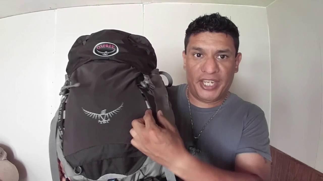 3d199a19d Osprey Packs Kestrel 48 Backpack - YouTube
