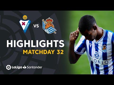 Eibar Real Sociedad Goals And Highlights