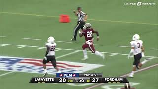 Fordham's Chase Edmonds Career Highlights
