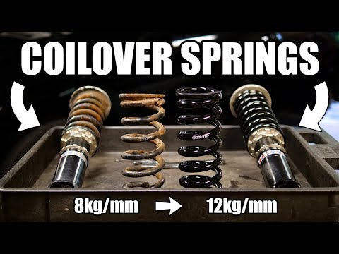 How to Change Coilover Springs (COMPLETE GUIDE)