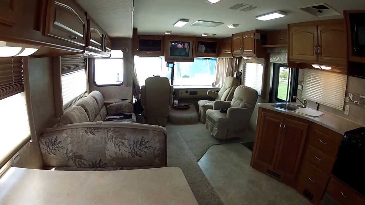 Inside Look Around 07 Fleetwood Fiesta LX Premium Bunk Bed RV