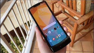 Motorola Razr Hands On and First Impressions!