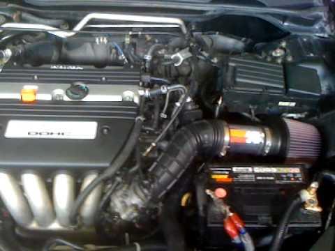 Honda Fuel Filter 2007 2003 2007 Honda Accord K Amp N Custom Short Ram After Youtube