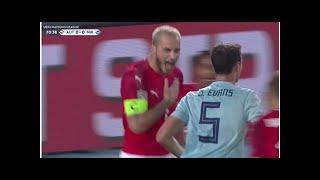 Highlights von Österreich gegen Nordirland: Marko Arnautovic trifft und jubelt