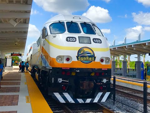 SunRail Train Tour at Meadow Woods station
