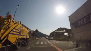 【丹波ドライブ】ドン・キホーテ福知山店(仮称)前→登尾トンネル 60fps