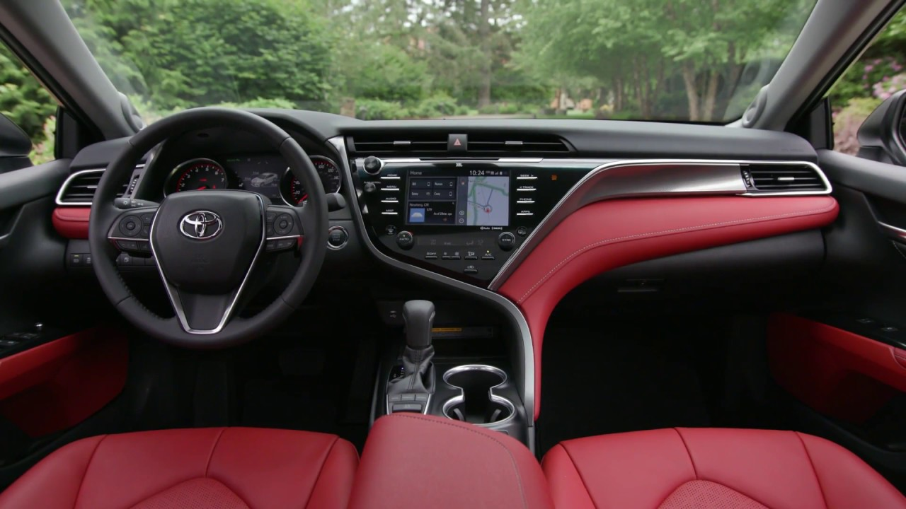 Toyota Camry 2018 Interior >> 2018 Toyota Camry Xse Interior Design
