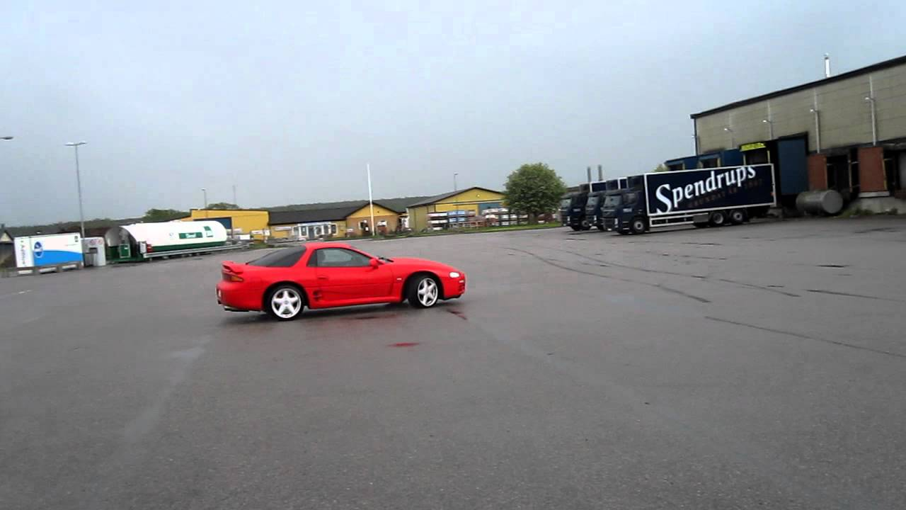 Mitsubishi 3000gt Drifting Youtube
