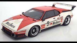 Modelissimo: CMR BMW M1 - Winner ProCar Series 1979 - Niki Lauda 1/12