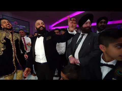 Dance off || Manny & Pali Wedding || DJ AJD || Kudos || Mandy Dhillon