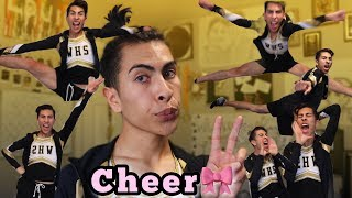How To Be A Cheerleader!!! | Louie's Life