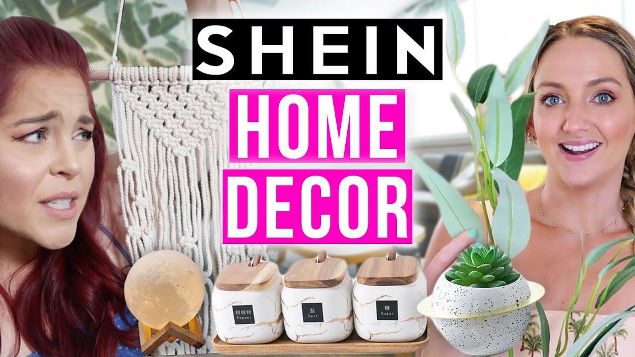 SHEIN Home Decor Honest Review!! (Everything $2-$42!)