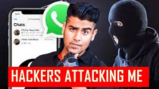 Hackers Trying to Hack Me !!! - Safety Tips For All