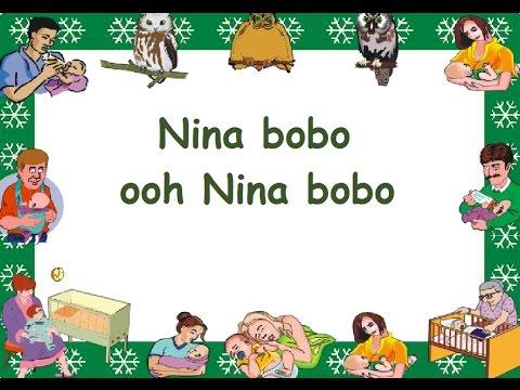NINA BOBO (LIRIK) - Lagu Anak - Cipt. .............. - Musik Pompi S.
