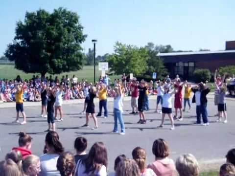 """Flash Mob"" by South Vienna Middle School 8th graders. South Vienna, Ohio."