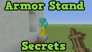 Minecraft Xbox 360 / PS4 - 5 Armor Stand Secret Uses