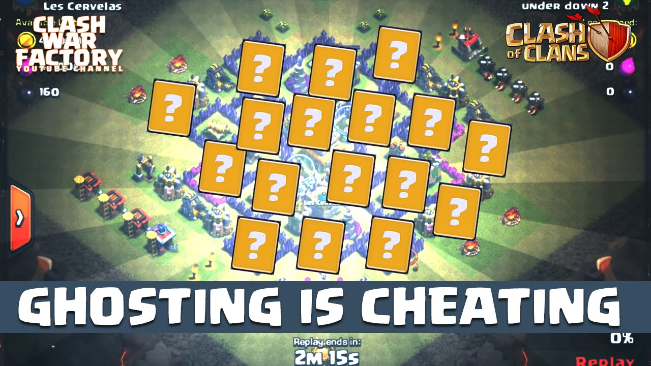 ghosting in clash of clans