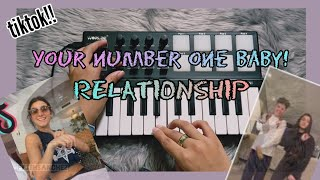"""Number One Baby! """"Relationship""""  - (TikTok) Young Thug, Future (Midi Keyboard Cover) [instrumental]"""