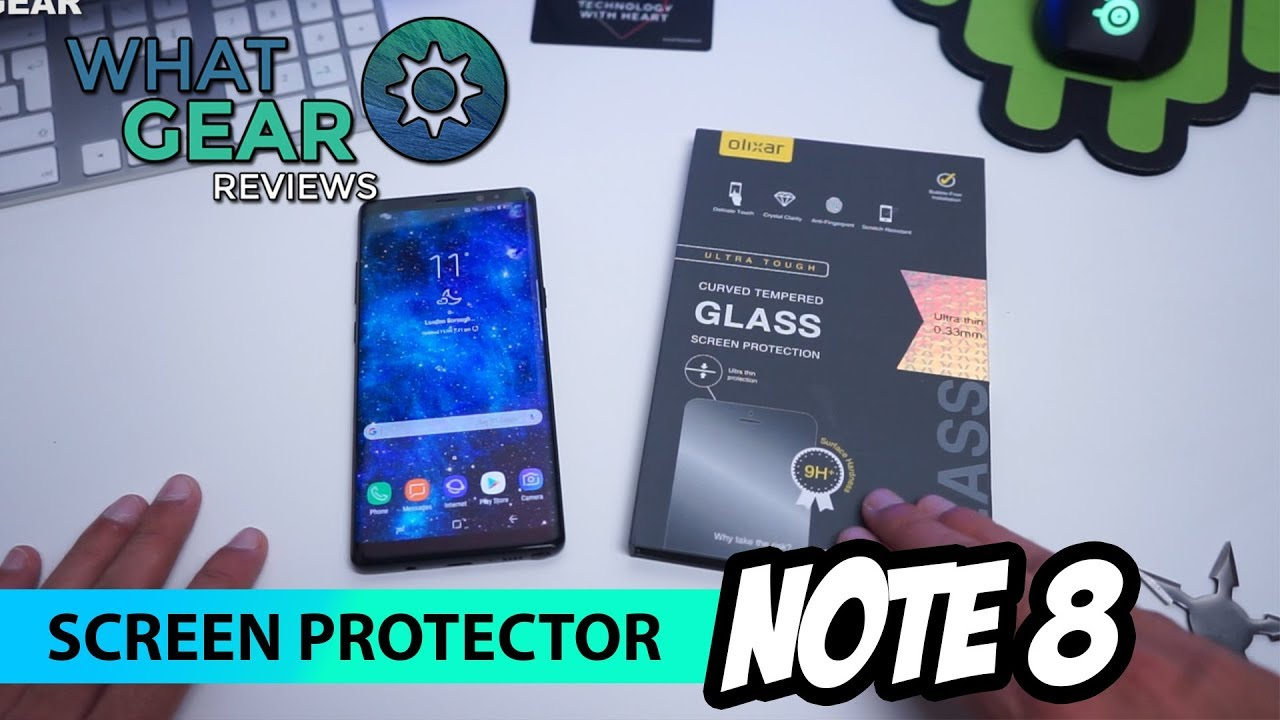 classic fit 1444e 57618 The Best Note 8 Screen Protector & Phone Cases - Olixar